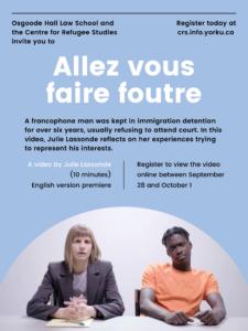 """English language premiere of """"Allez Vous Faire Foutre"""""""
